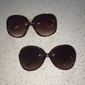 2 pair sunglasses ☀️🕶 🍉